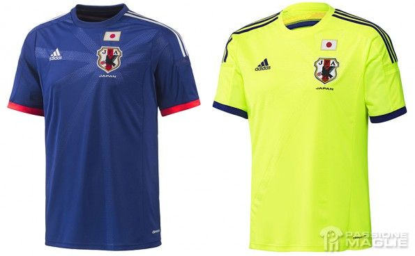 Maglie Giappone 2014 adidas