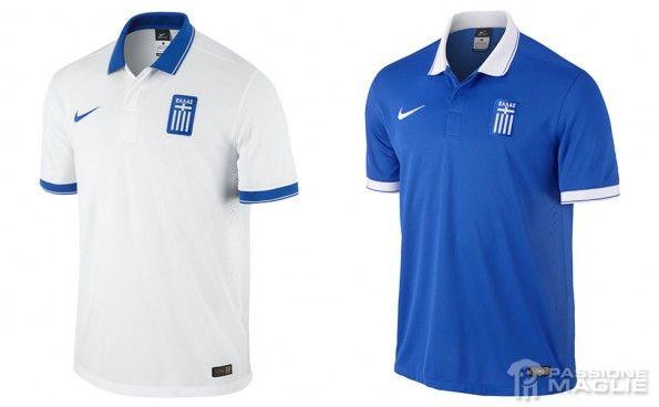 Maglie Grecia Mondiali 2014 Nike
