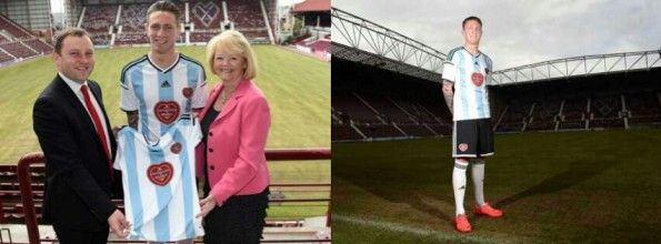 Away Kit Heart of Midlothian 2014 2015