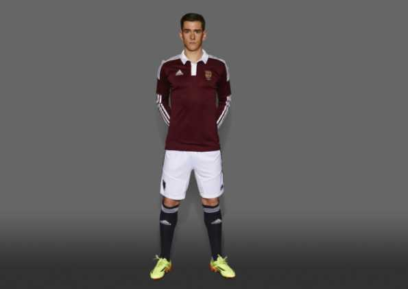 Home Kit Heart of Midlothian 2014-2015