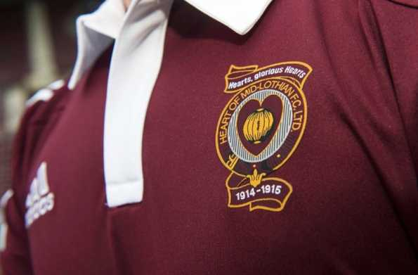 Maglia Heart of Midlothian Home 2014-2015