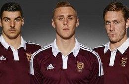Maglia Home Heart of Midlothian 2014-2015
