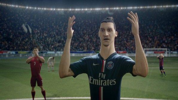 Ibrahimovic nel corto Last Game di Nike