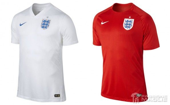 Maglie Inghilterra Mondiali 2014