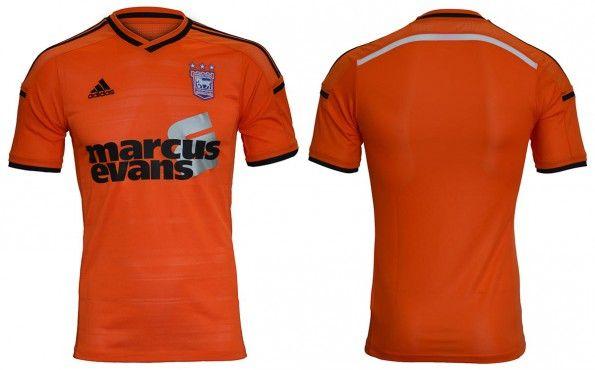 Seconda maglia Ipswich Town 2014-15