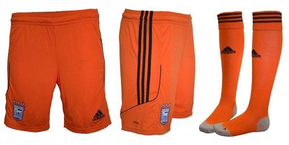 Ipswich Town pantaloncini calze away 2014-15