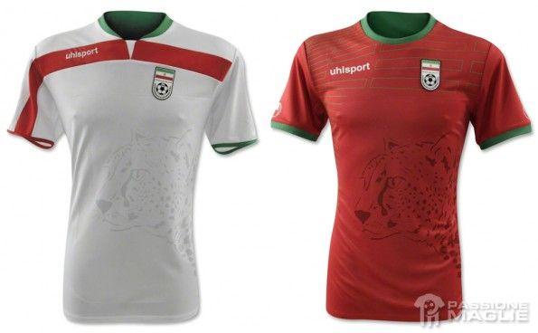 Maglie Iran Mondiali 2014 Uhlsport