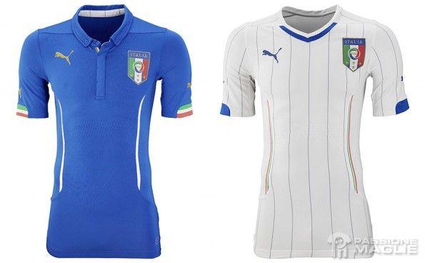 Maglie Italia Mondiali 2014 Puma