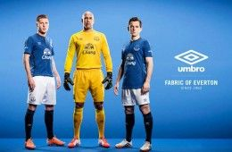 Kit Everton 2014-2015 Umbro