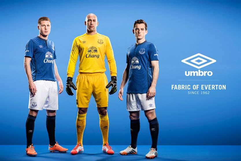 Kit Everton 2014-2015 Umbro