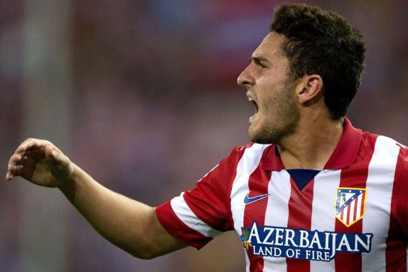 Koke dell'Atletico Madrid