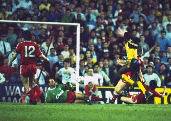 Liverpool-Arsenal, 1989, Bruce Grobbelaar, Michael Thomas