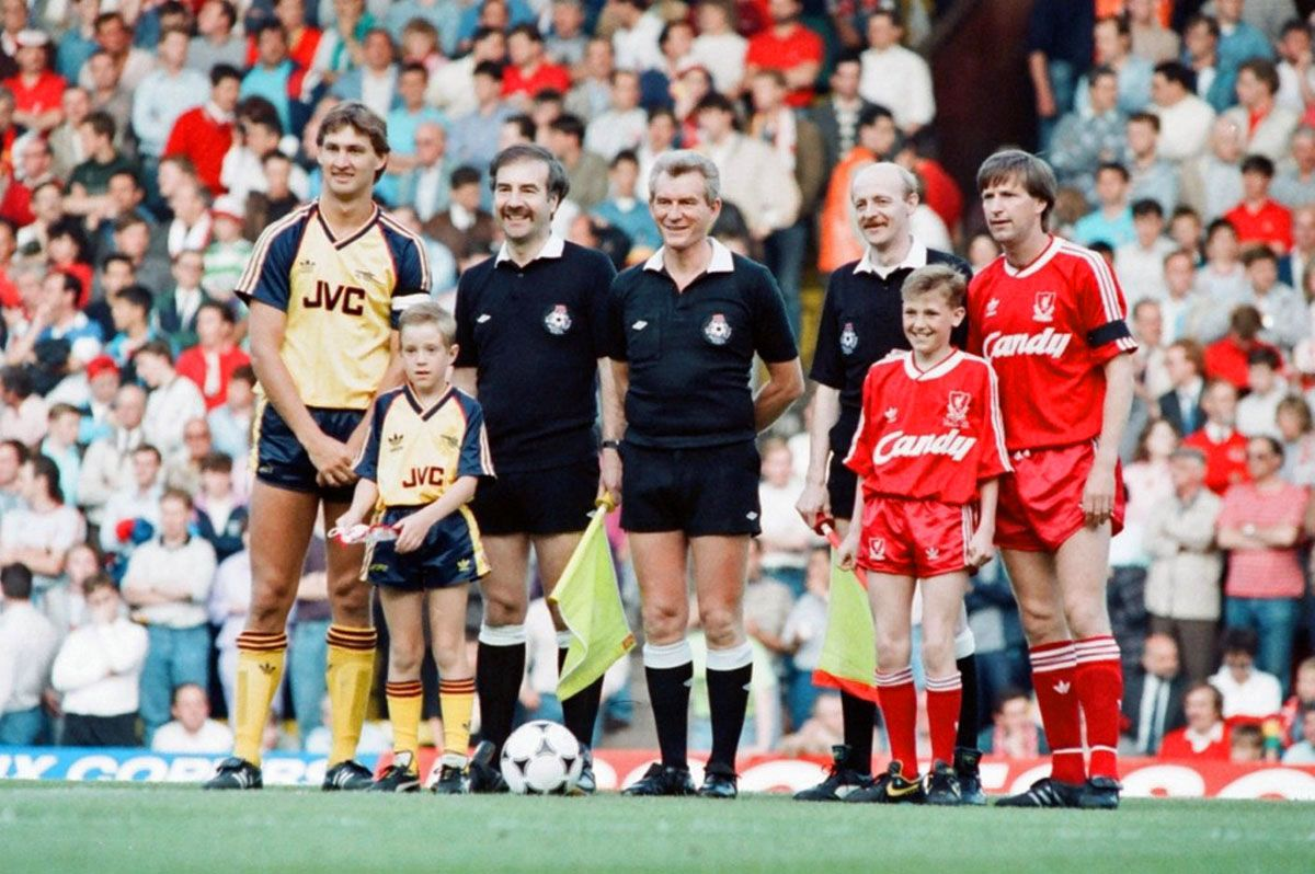 Liverpool-Arsenal, First Division 1988-1989