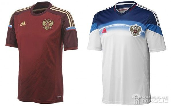 Maglie Russia Mondiali 2014 adidas