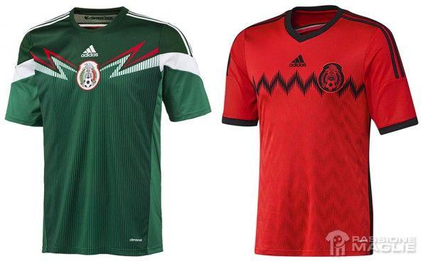 Maglie Messico Mondiali 2014