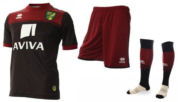 Seconda maglia Norwich City 2014-15