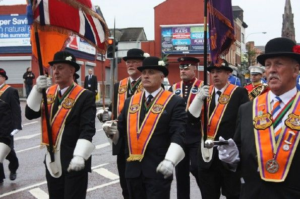 Membri dell'Orange Order