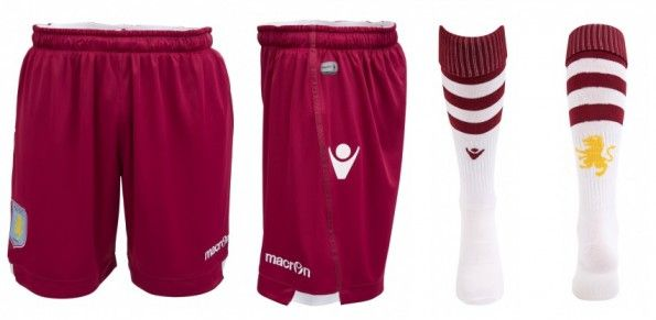 Pantaloncini e calzettoni trasferta Aston Villa 2014-2015