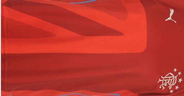 L'Union Jack tono su tono sulla terza maglia dei Rangers 2014-15