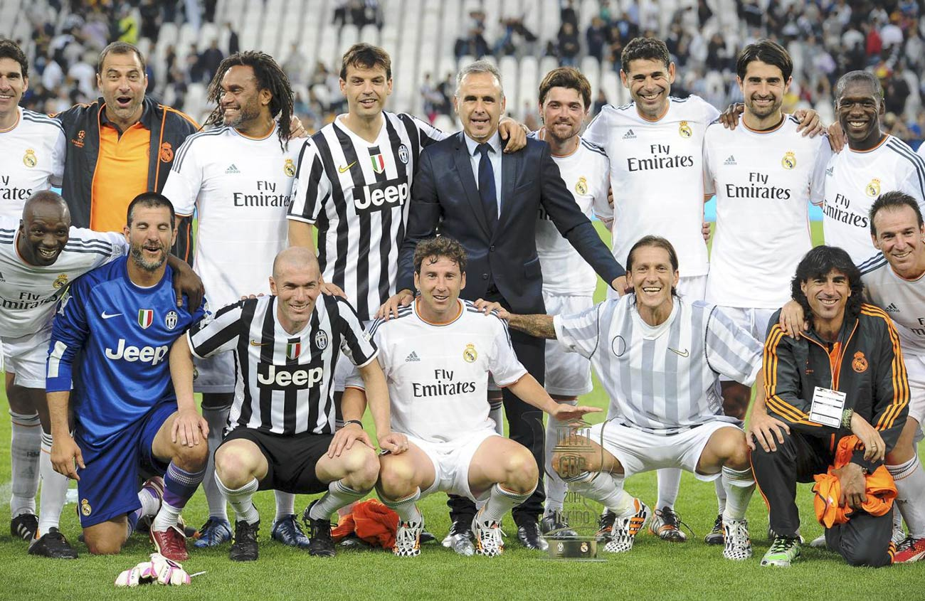 Special Photoboots Juventus Real Madrid