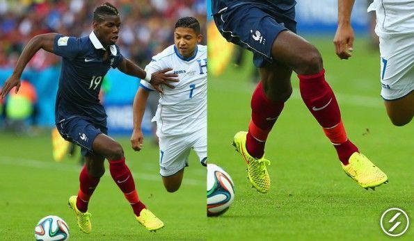 Pogba ai Mondiali 2014 con le Magista Opus