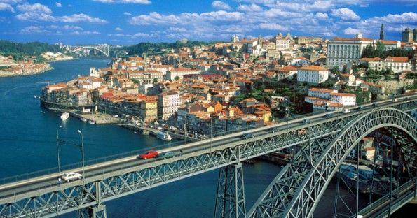 Vista città di Porto