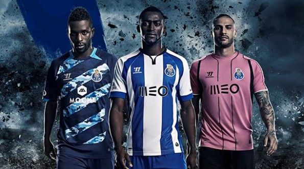 Kit Porto 2014-2015 Warrior