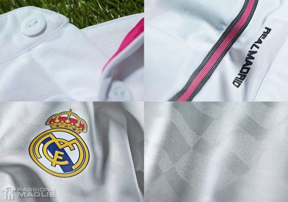 Prima maglia Real Madrid 2014-15 adidas