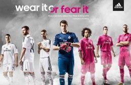 Real Madrid kit 2014-15
