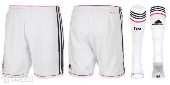 Pantaloncini calze Real Madrid 2014-15 home