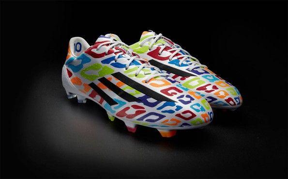 Scarpe F50 Messi compleanno Mondiali