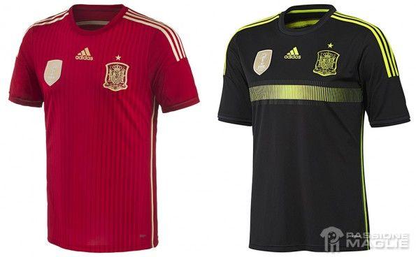 Maglie Spagna adidas 2014 Mondiali