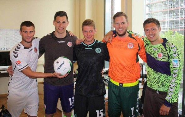 Maglie St. Pauli 2014-2015 Hummel