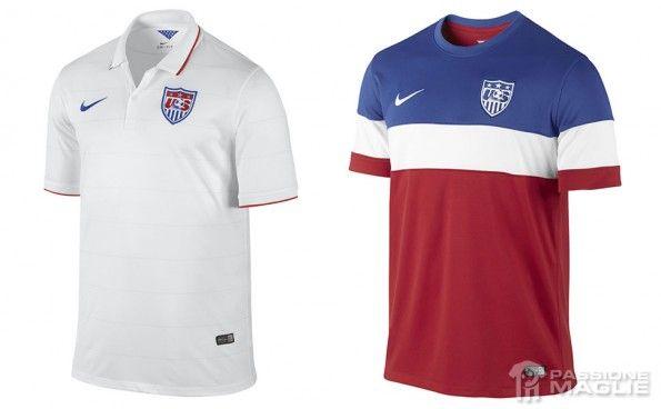 Maglie Stati Uniti Mondiali 2014 Nike