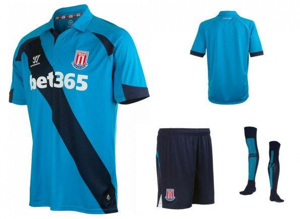 Seconda maglia Stoke City 2014-15