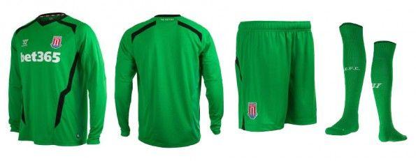 Maglia portiere Stoke City home 2014-15