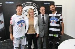 Divise Sturm Graz 2014-2015 Lotto