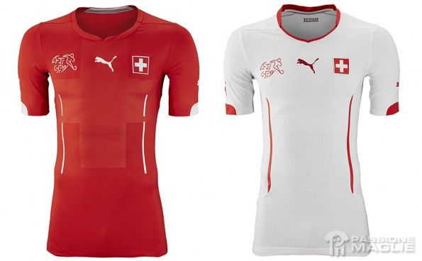 Maglie Svizzera World Cup 2014