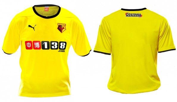 Maglia Watford 2014-15 home