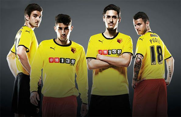 Watford kit home 2014-15