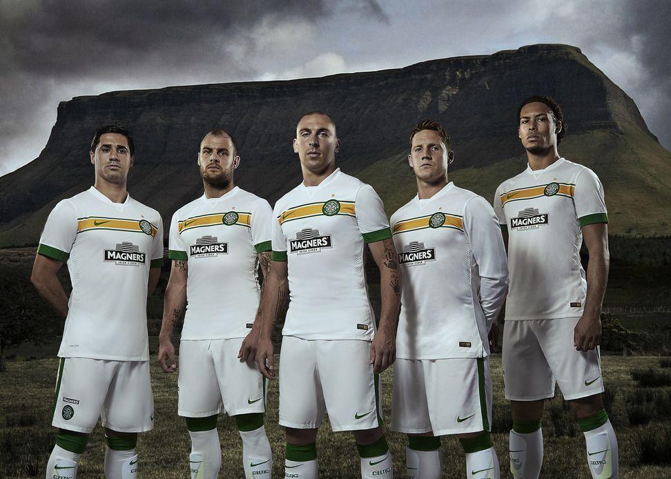 Celtic presentazione terza maglia 2014-2015