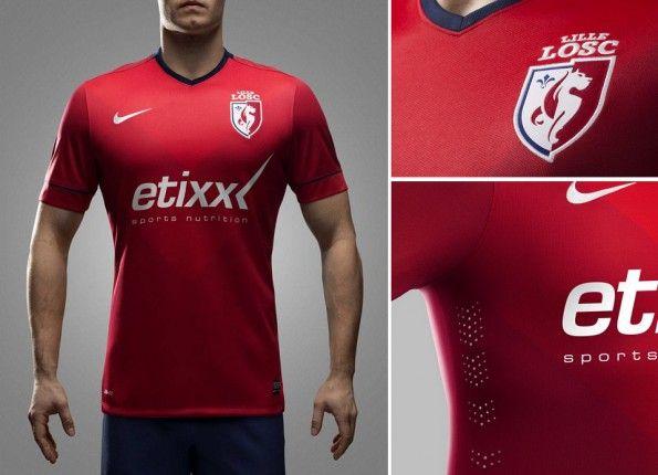 Dettaglia maglia Nike Lille 2014-2015