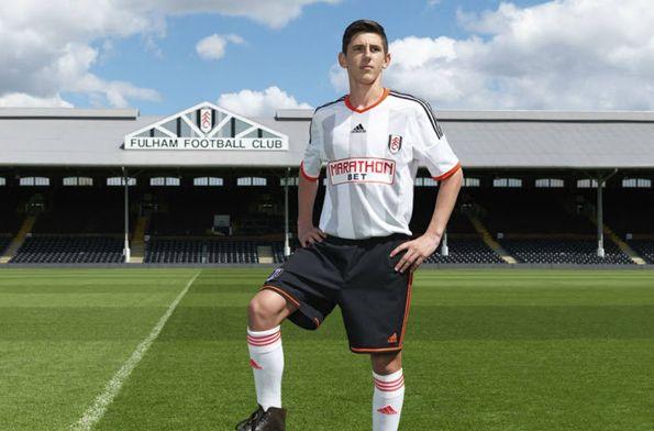 Kit Fulham 2014-2015 adidas