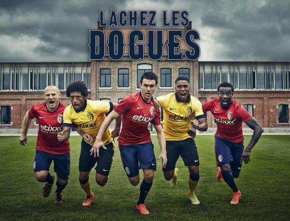 Divise Lille 2014-2015 Nike