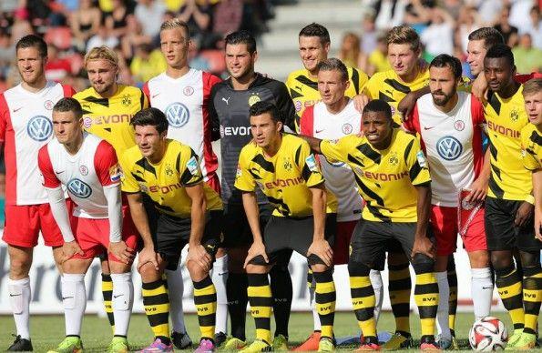 Esordio divisa 2014-2015 Borussia Dortmund