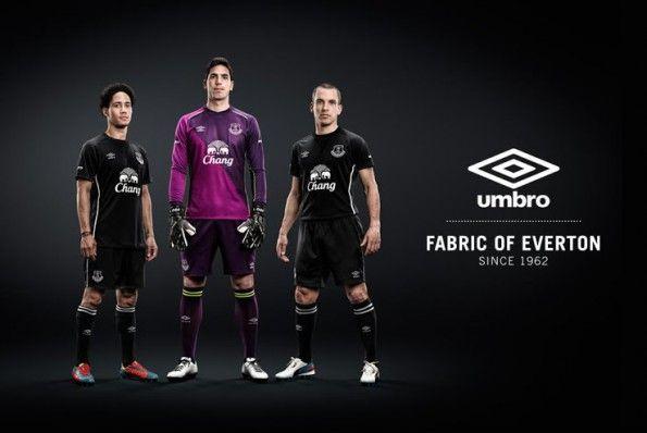 Kit Away Everton 2014-2015