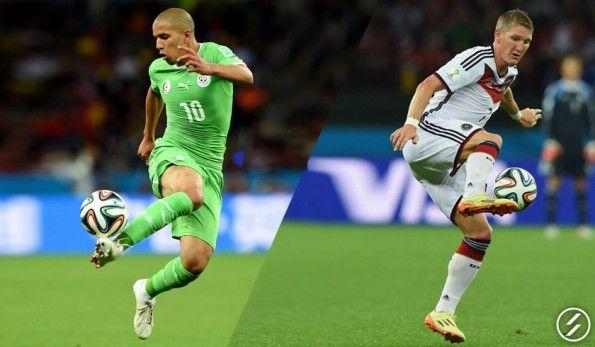 Feghouli (Algeria) & Schweinsteiger (Germania)