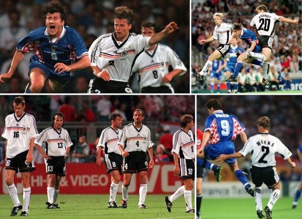 Germania-Croazia 0-3 Francia 98