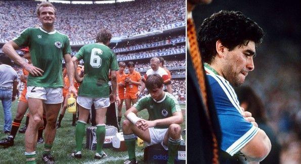 Gli sconfitti nelle finali Mondiali 1986 e 1990