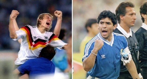Klinsmann e Maradona finale 1990